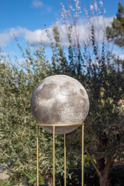 Cassiom Luna By Erol Resin in context in outdoor context
