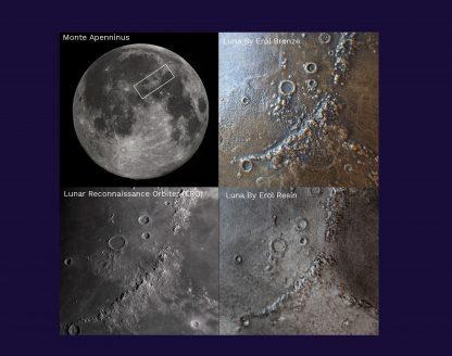 Cassiom Luna by Erol Monte Apenninus detail